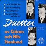 Duetter Göran & Nils Stenlund (Hemmes Härold P 5193)