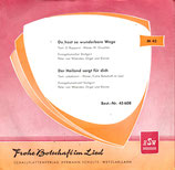 Evangeliumsterzett Stuttgart / Evangeliumschor Stuttgart - Frohe Botschaft im Lied 45608