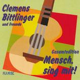 Clemens Bittlinger und Freunde - Mensch, sing mit! (Gesamtedition 2-CD)