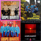 The Gospel Quartett - Doppel-CD (4 Original-Albums auf 2 CD's)