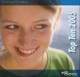 WDL Freizeitlieder Top Ten 2005