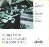 Gitarrenchor der Heilsarmee Jugend Adelboden