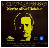 Wolfgang Blissenbach singt Werke alter Meister
