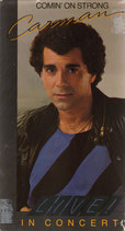 Carman Comin' On Strong Live In Concert VHS VIDEO