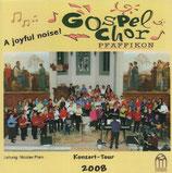 Gospelchor Pfäffikon - A joyful noise! ; Konzerttournee 2008