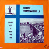 Deutsche Strassenmission - Jahresfest in Wort und Lied 1969