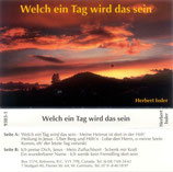 Herbert Issler - Welch ein Tag wird das sein