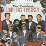 The Original Five Blind Boys of Mississippi in Concert
