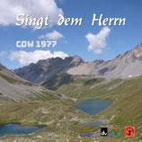 SPM Chor-und Orchester : Singt dem Herrn (COW 1977)