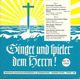 Vereinigte Männerchöre - Singet und spielet dem Herrn 1713