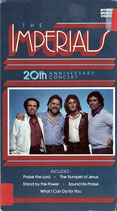 THE IMPERIALS 20th Anniversary Concert VHS Pal Video