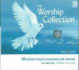 The Worship Collection : 50 Songs Todays Churches Are Singing Volume Nine : Praise You Lord (3-CD)