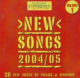 WORSHIP EXPERIENCE : New Songs 2004/05 Volume 1 (20 New Songs of Praise & Worship) (Kingsway Music)
