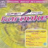 Open Mic Karaoke : Christian Pop Volume 1