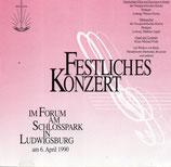 NAK : Festliches Konzert im Forum am Schlosspark in Ludwigsburg 1990