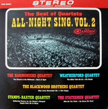 The Best of Quartets - All-Night Sing Vol.2