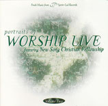 Fresh Music from Spirit-Led Records : Portraits of Worship Live feat. New Song Christian Fellowship