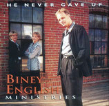 Biney English Family - He Never Gave Up CD-
