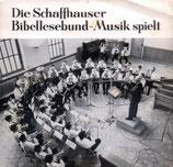 Die Schaffhauser Bibellesbund-Musik spielt