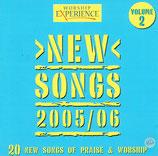WORSHIP EXPERIENCE : New Songs 2005/06 Volume 2 (20 New Songs of Praise & Worship) (Kingsway Music)