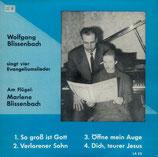 Wolfgang Blissenbach singt vier Evangeliumslieder