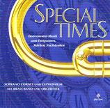 Erich Schmidli (Euphonium) & Andreas Meyer (Soprano Cornet) mit Brass Band und Orchester - Special Times