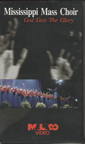 Mississippi Mass Choir - God Gets The Glory VHS NTSC Video