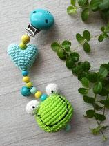 Kinderwagenanhänger Frosch  --individualisierbar--