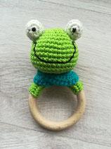 Rasselring Frosch