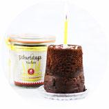 Geburtstags-Kuchen im Glas