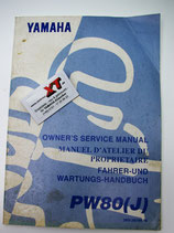 PW80J Handbuch • Owner´s Service Manual