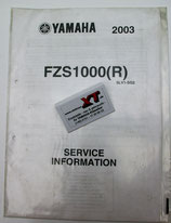FZS1000R Service Information
