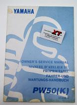 PW50K Fahrerhandbuch / Owner´s Manual