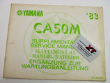 CA50M Service Manual Ergänzung / Suppliement
