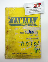 RD50/80MX Teileliste / Parts List