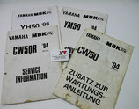 CW50 YH50 Service Information