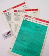 XV500 S / SE Datenblätter / Data Sheet