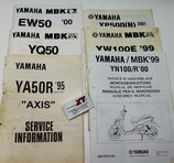 AXIS 50 MBK Service Information