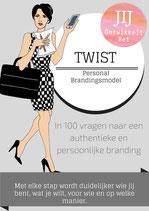 Het TWIST Personal Branding werkboek voor ambitieuze persoonlijkheden