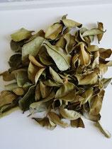 Feuilles de combava de Madagascar séchées en sachet de 6g