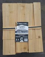 Weiß-Zederschindeln gesägt 40cm , Qualität C, stumpf
