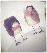 Caketopper Vögel