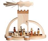 Pyramide Christi Geburt Torbogen