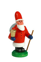 Weihnachtsmann mit Sockel