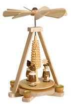Minipyramide mit Kurrende natur