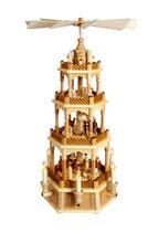 Pyramide Christi Geburt natur elektrisch