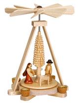 Minipyramide mit Christi Geburt