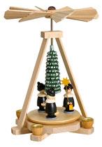 Minipyramide mit Kurrende bunt
