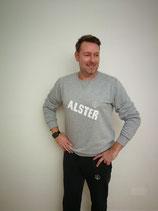 Unisex Sweatshirt ALSTER (grau / weiß)