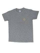 Herren T-Shirt moin (grau / gelb)
